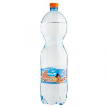 Aquaria Narancs sz.savas üi.   PET 1.5 L