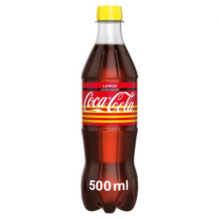 Coca Cola Zero Lemon            PET 0.50