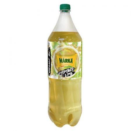 Márka Gyömbér Lime               PET 2 L