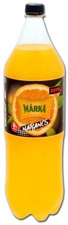 Márka 0% cukor Narancs  PET          2 L