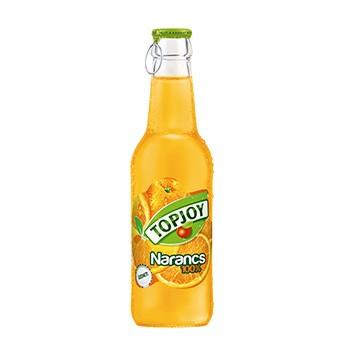 Top-Joy narancs 100% üveges         0.25