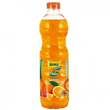 Márka 25% ros. Narancs          PET 0.50