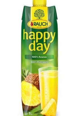 Happy Day Ananász 100%               1 L