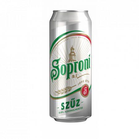 Soproni Szűz 0% alk             DOB 0.50