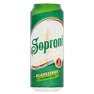 Soproni Ászok 0.50              dob 0.50