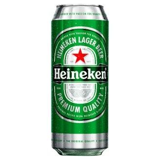 Heineken dobozos                    0.50