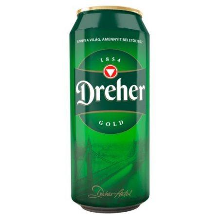 Dreher Gold Doboz               DOB 0.50
