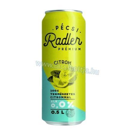 Radler KONTROLL Lemon dob           0.50
