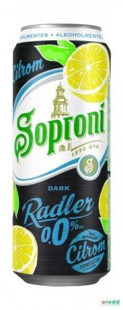 Soproni Dob. 0% Dark  Citrom    DOB 0.50