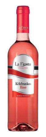 La Fiesta Kékfr. ROSÉ száraz        0.75