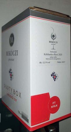 Mikóczi Kékfrankos Rozé          BOX 3 L