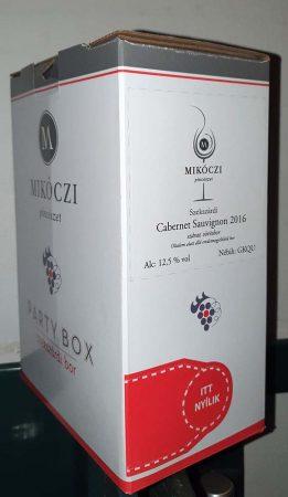 Mikóczi Cabernet Sauvignon       BOX 3 L