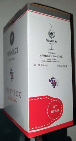 Mikóczi Kékfrankos Rozé 5L       BOX 5 L