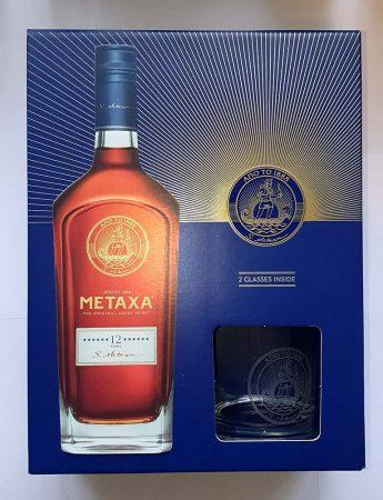 Metaxa 12* +pohár                   0.70