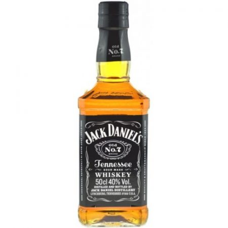 Jack Daniel's Tennessee Whiskey     0.50
