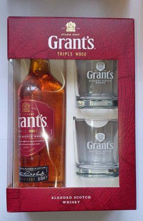 Grants Scotch Whisky +2 Pohár       0.70