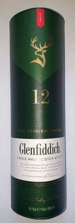 Glenfiddich Scotsh Whisky 12é       0.70