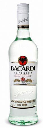 Bacardi fehér Rum AKCIÓ!!!           1 L