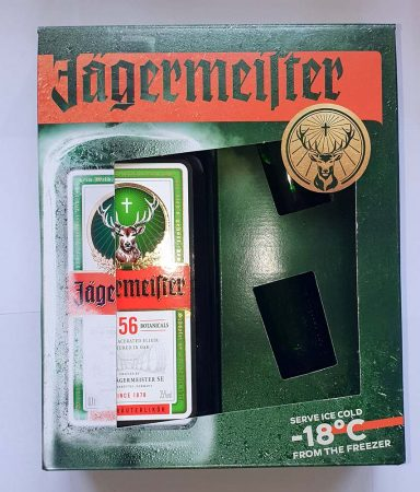 Jagermeister+pohár                  0.70
